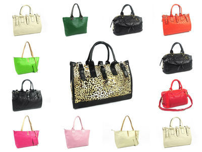 12 X High End Designer Handbags #1