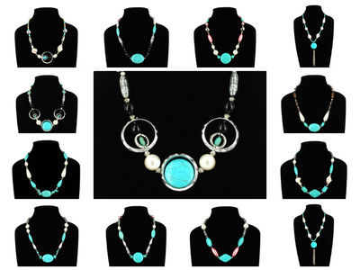 48 X Turquoise Necklace ( Set Two ) #111