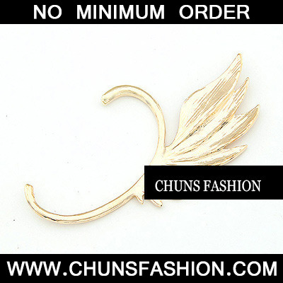 Gold Unique Wings Earring