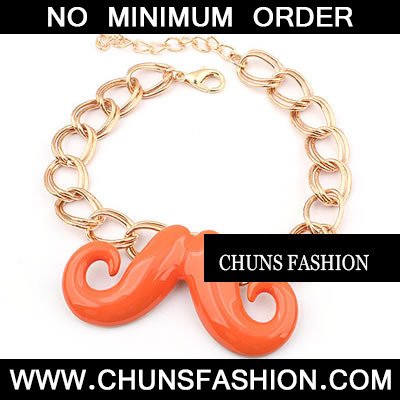 Orange Cute Effendi Beard Bracele