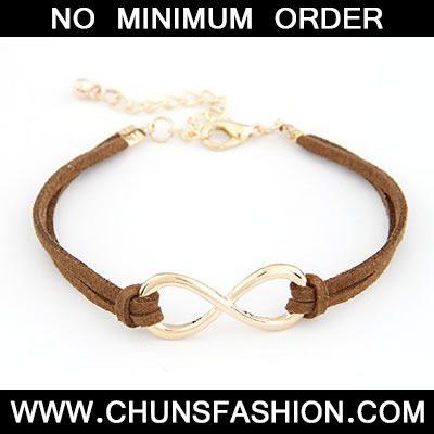 Brown Personality 8 Number Bracele