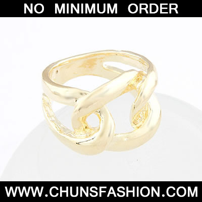 Gold Weave Ring