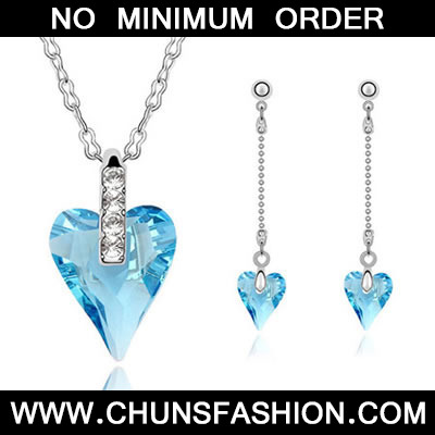 Sea Blue Set Well Content Crystal Set