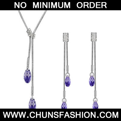 Purple Crystals Crystal Set