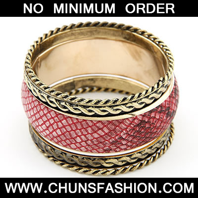 Claret Red Multilayer Bangle
