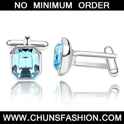 Sea Blue Octagon Shape Austrian Crystal