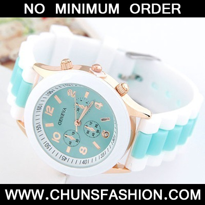 Light Green Candy Silicone Watch
