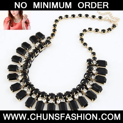 Black Handwork Weave Necklace
