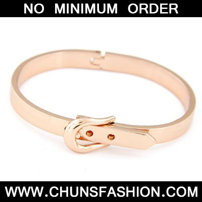 rose gold Belt buckle Bangle