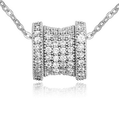 white diamond transport bead zircon Crystal