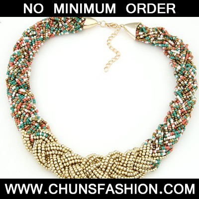 multibeads weave Necklace