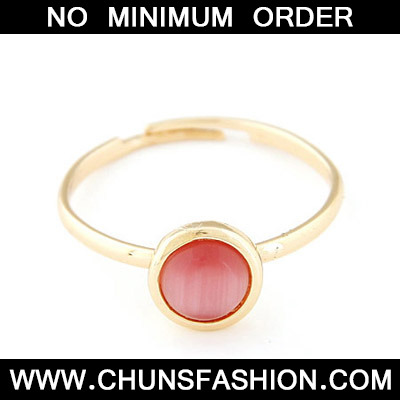 light red opal Ring