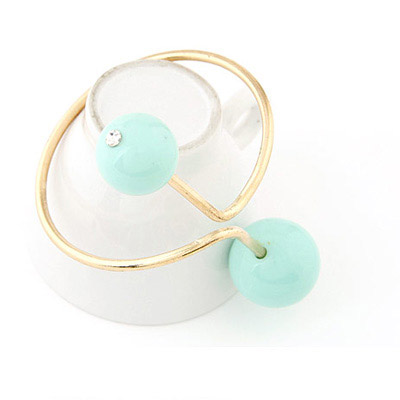 Light Blue Candy Ball Desgin Bangle