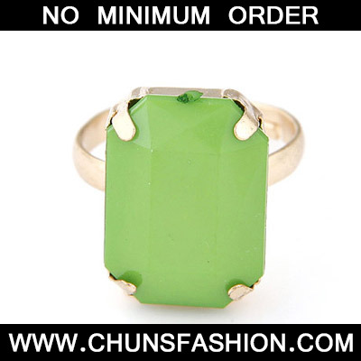 Green Candy Ring