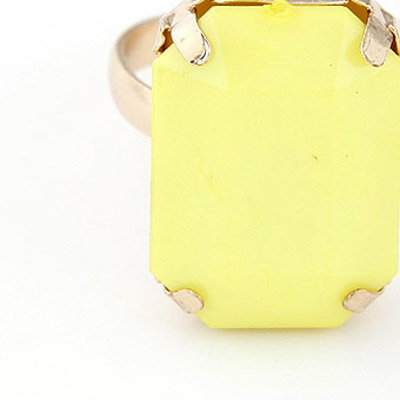 Yellow Candy Ring