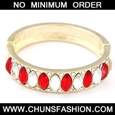 Red Diamond Bangle