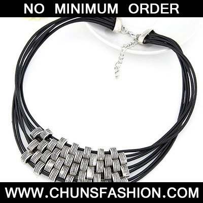 Silver Multilayer Necklace