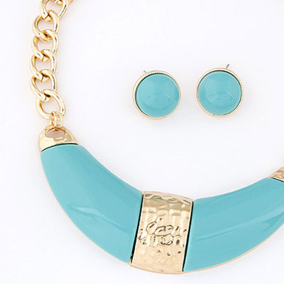 Light Blue Jewelry Set