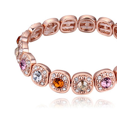 MultiDiamond Crystal Bracelet
