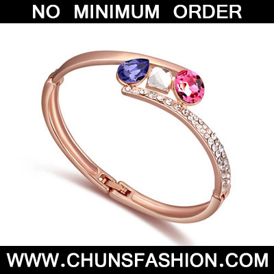 Pinkish Purple & Rose Gold Diamons