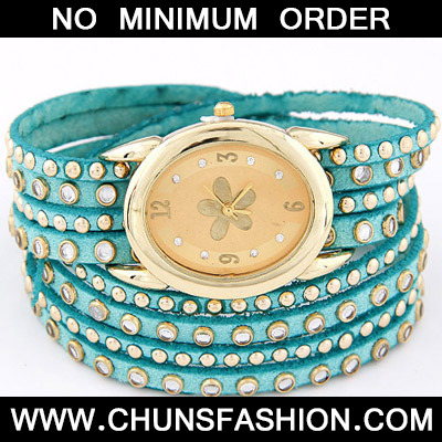 Blue Diamond Multilayer Ladies Watch