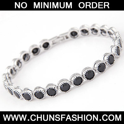 Black Diamond Zircon Bracelet
