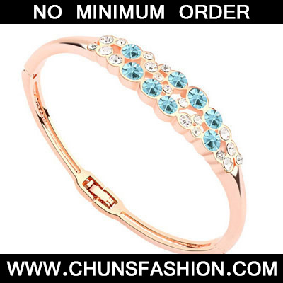 Navy Blue & Rose Gold Diamond