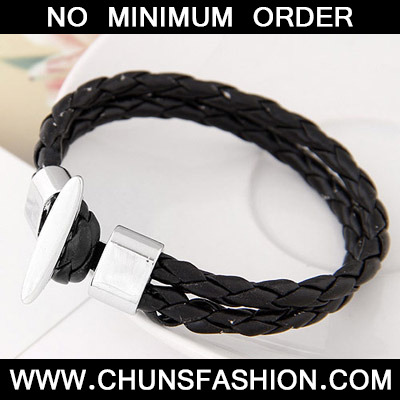 Black Double Layer Bracele