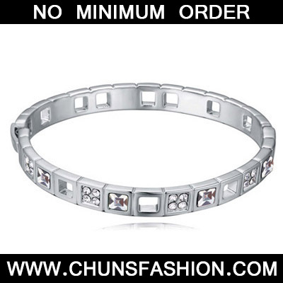 White Diamond Crystal Bracelet
