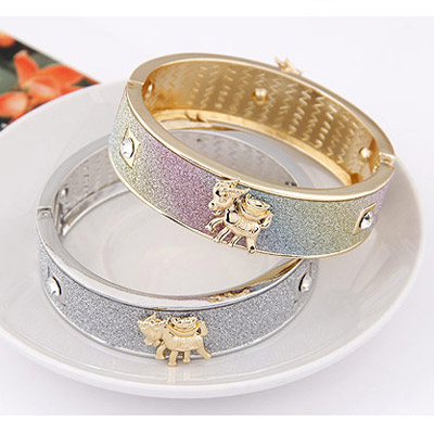 MultiSheep Shape Bangle