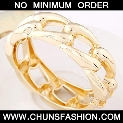 Gold Pure Weave Bangle