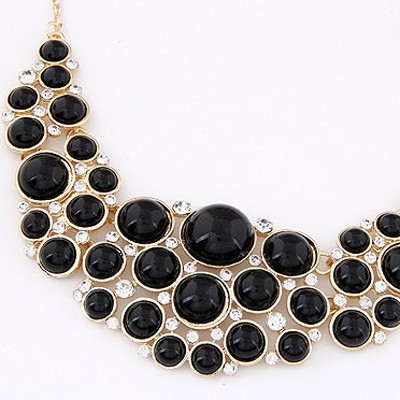 Black Pearl Multilayer Necklace