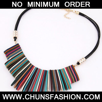 MultiBars Shape Necklace