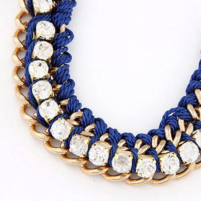 Blue Diamond Bracele