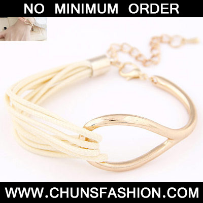 White Metal Multilayer Bracele