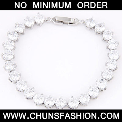 White Diamond Cuprum Bracelet