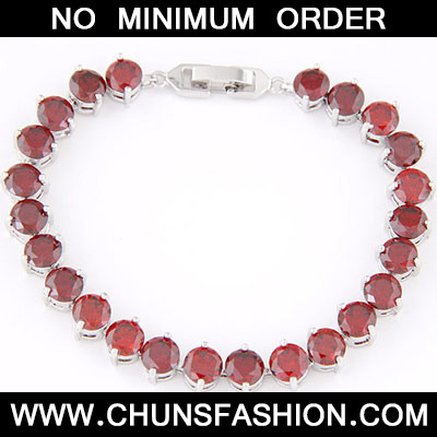 Red Diamond Cuprum Bracelet