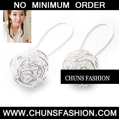 Silver Chic Sphere Earrings Earring