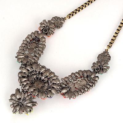 MultiMix Flower Pearl Necklace