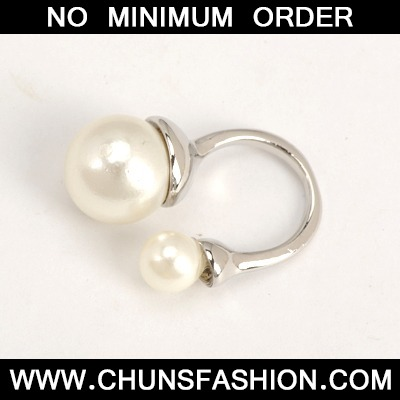 Silver Good Quality Big Pearl And