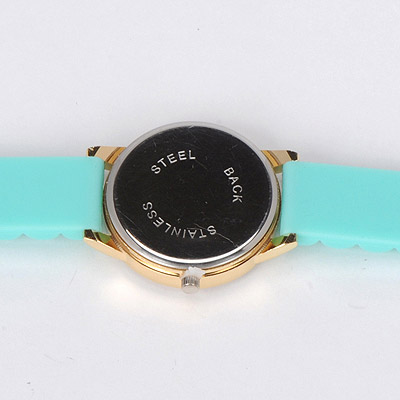 green diamond rose pattern Ladies Watch