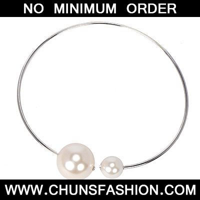 Silver Pearl Pearl Necklace