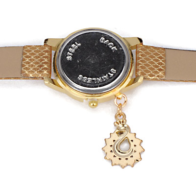 Gold Diamond Swan Shape Ladies Watch