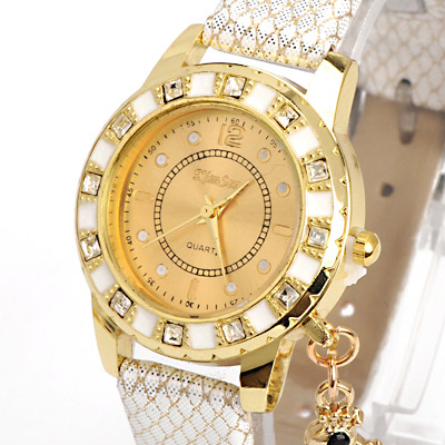 White Diamond Swan Shape Ladies Watch
