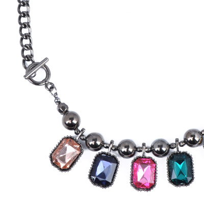 MultiSquare Shape Necklace
