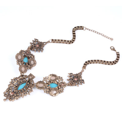 MultiOval Shape Necklace