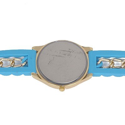 Blue Diamond Flag Pattern Ladies Watch