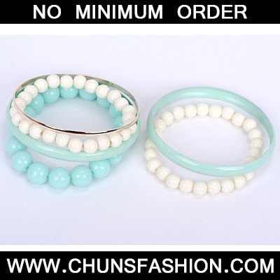 Blue Pearl Multilayer Bangle