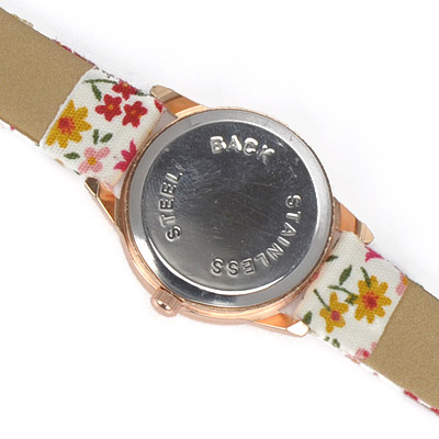 Yellow Flower Pattern Electronic Elements Ladies