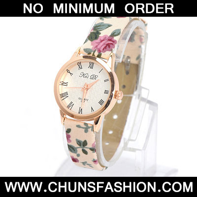 Pink Flower Pattern Electronic Elements Ladies